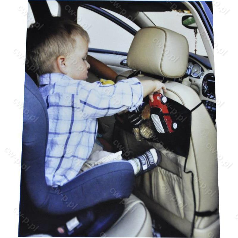 Pokrowiec Ochronny Z Kieszonkami Na Fotel Samochodowy