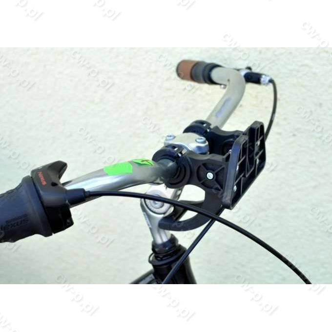 14fda313c763c6 20204 Uchwyt CLICK do mocowania kosza na kierownicy roweru (kpl.