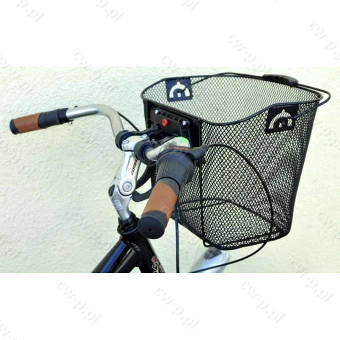 6806f133718fc8 20205 Uchwyt CLICK do mocowania kosza na kierownicy roweru (kpl.